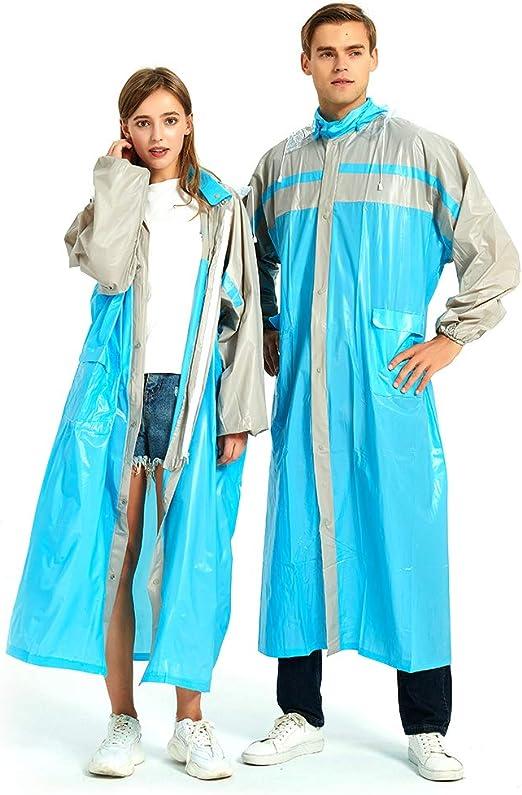Regencape Regenjacke f/ür Damen und Herren Wasserdicht Regenbekleidung Regen Zubeh/ör f/ür Wandern Radfahren Camping und Reisen ockered Regenponcho Wiederverwendbar Regenmantel mit Rei/ßverschluss