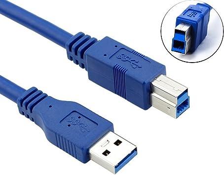 ULTRICS Cable de Impresora, 1m USB 3.0 Tipo A a B Cable Macho ...