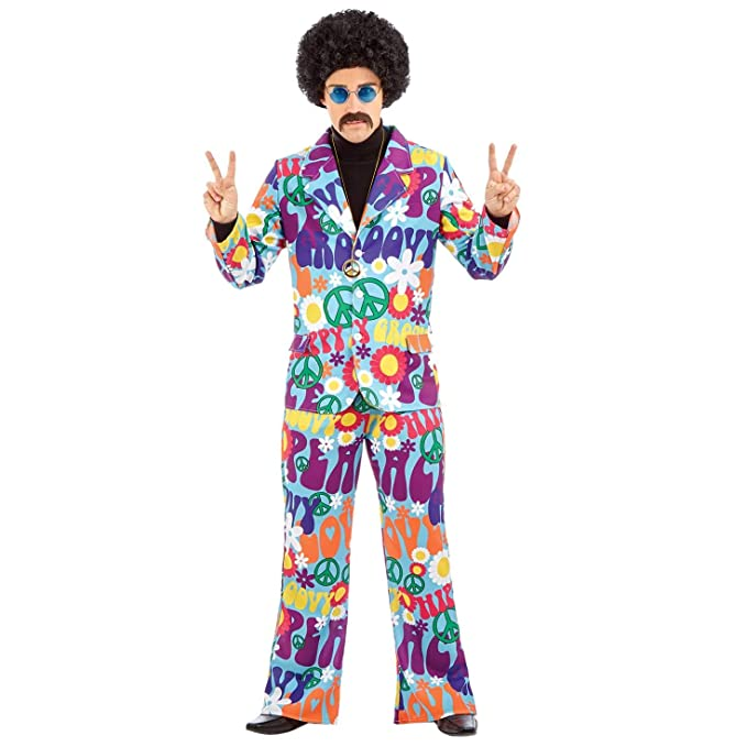 60s , 70s Hippie Clothes for Men fun shack Mens 70s Hippie Costumes Adults 60s Flower Power Hippy Suits - Choice of Styles $39.99 AT vintagedancer.com
