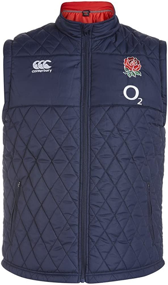 Canterbury Mens England Padded Gilet