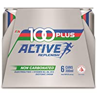 100 Plus Active Isotonic Drink Non-carbonated, 6 x 300ml