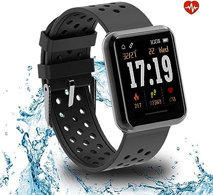 Amazon.com: Kospet - Reloj inteligente con pantalla táctil y ...