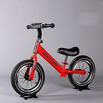 Bicicleta de Equilibrio for Niños Pequeños, Bicicleta de Equilibrio for Niños Sin Pedales de 12 Pulgadas