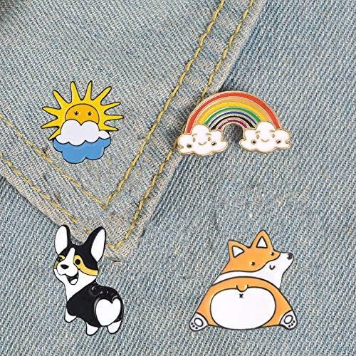 QCQHDU Sloth Pin Funny Cartoon Brooches Cute Lapel Lazy Enamel Koala Pins Sloth Enamel Pin for Woman Girls Decoration