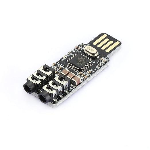 Tree-on-Life CM108 Unidad USB Tarjeta de Sonido Libre ...