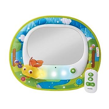 Munchkin Miroir Auto Musical à LED pour Bébé: Amazon.fr: Bébés ...
