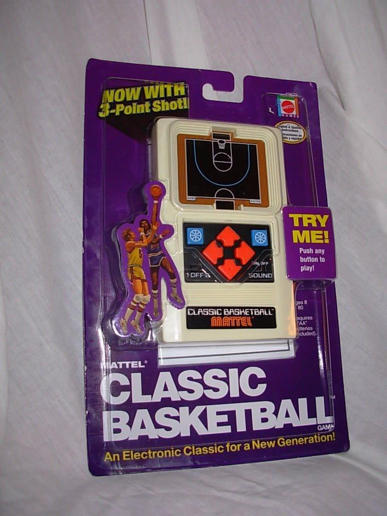 開店祝い [マテル]Mattel Classic Basketball Handheld Game LYSB003JNFGV8-TOYS [並行輸入品] B003JNFGV8, 中津軽郡 b57d5599