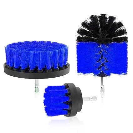 Amazon Holysteed Drill Brush Power Scrubber Brush Set