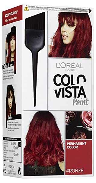 L\'Oréal Paris Colovista Permanent Paint #RONZE, dauerhafte Haarfarbe ...