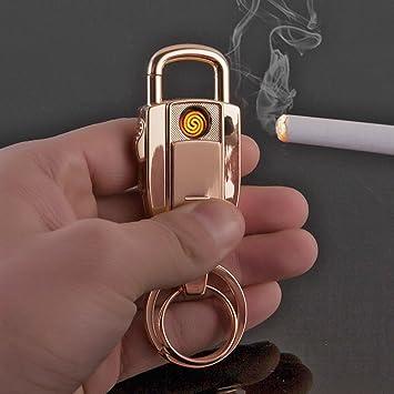 Mechero JOBON 2-en-1 elegante anillo de llavero de coche ...