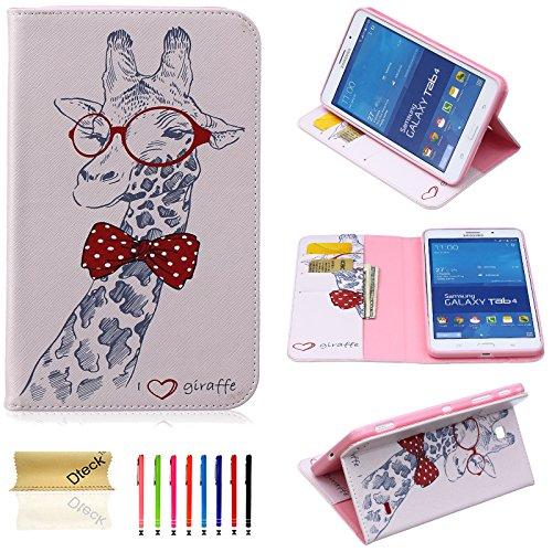 Galaxy Tab 4 7.0 Inch Case, Dteck(TM) Slim Cute Art Print...