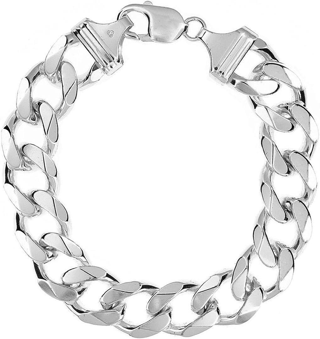 Tuscany Silver 8.23.4924 - Pulsera de plata de ley (925/1000)