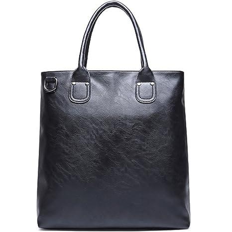 Image Unavailable. Image not available for. Color  PU Leather Business  Handbag, BLOOMSTAR Fashion Laptop Cross Body Shoulder Messenger Satchel Tote  Bag ... 7ffc27ce94