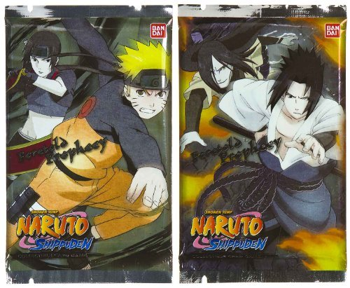 Naruto Foretold Prophecy Trading Card Booster Series [2-Pack Bundle] [Toy] ()