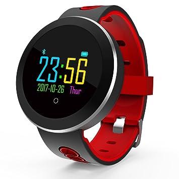 Youlala Reloj Deportivo,Rastreador de Ejercicios a Prueba de Agua IP68 con Monitor de oxígeno para la presión Arterial y el Ritmo cardíaco para Hombres y ...