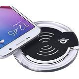 Galaxy S7/S7 Edge Wireless Charger, Lookatool Qi Wireless Charger Charging Pad For Samsung Galaxy S7/S7 Edge (Black)