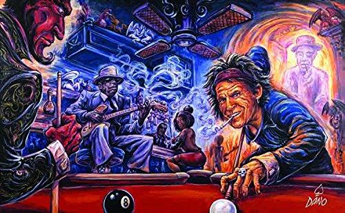 Billiards with the Devil - Billiard Art
