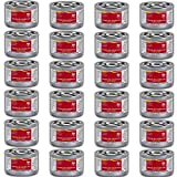 Chafing Dish Fuel Cans – Includes 24 Ethanol Gel Chafing Fuels, Burns for 2 Hours (6.43 OZ) for your Cooking, Food Warming, Buffet and Parties.