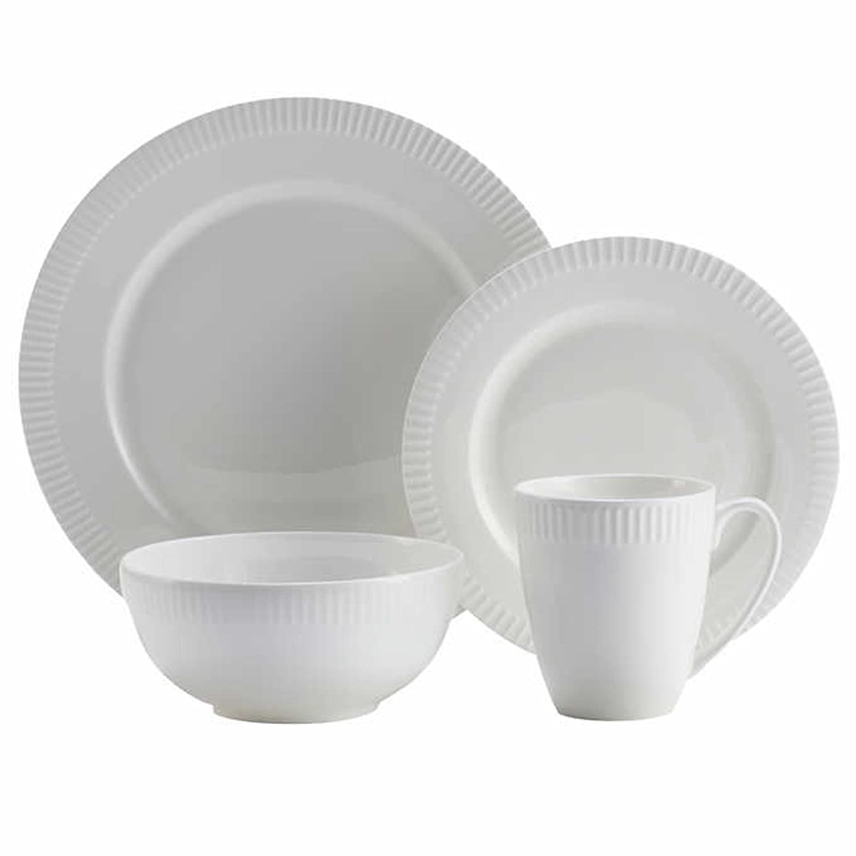Roscher 32-pc. Braid Bone China Dinnerware Set: Amazon.ca: Home ...