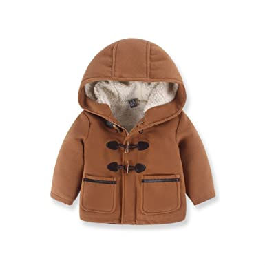 41dd6c8c0 Amazon.com  LOSORN ZPY Little Boy Wool Coat Hooded Jacket Kids Baby ...