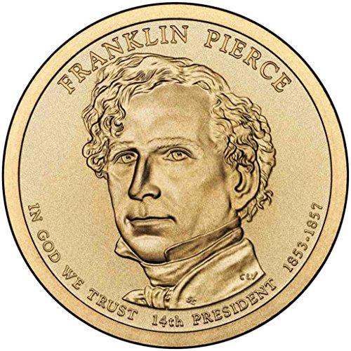 2010 D Pierce Presidential Dollar Choice Uncirculated