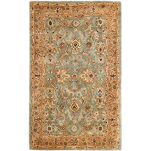 Safavieh Persian Legend Collection PL523A Handmade Traditional Blue and Gold Wool Area Rug (8