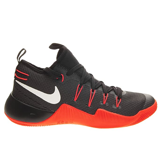 new concept bc3bc 2e159 Amazon.com  Nike Mens Hypershift Basketball Sneaker Black White-Bright  Crimson Size 10.5 US  Sports   Outdoors