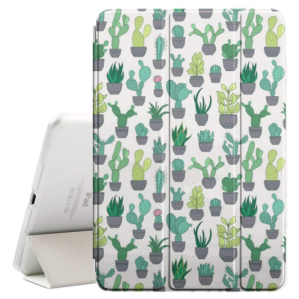 品多く Apple + iPad B07PW7JZTP Air (第1世代) 対応 - レザースマートカバー + ハードバックケース - スリープ/ウェイク機能付き (サボテン多肉植物花種) B07PW7JZTP, 【tomatosarada】トマトサラダ:1e091885 --- a0267596.xsph.ru