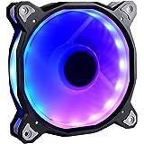 Lian Li デジタルRGB搭載ファン アルミニウムフレーム ブラック ファン/コントローラーキット BORA120RGB Black KIT 日本正規代理店品