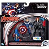 "Marvel Avengers Age of Ultron Age of Ultron Captain America & Black Widow Exclusive 3 3/4"" Action Figure 2-Pack"