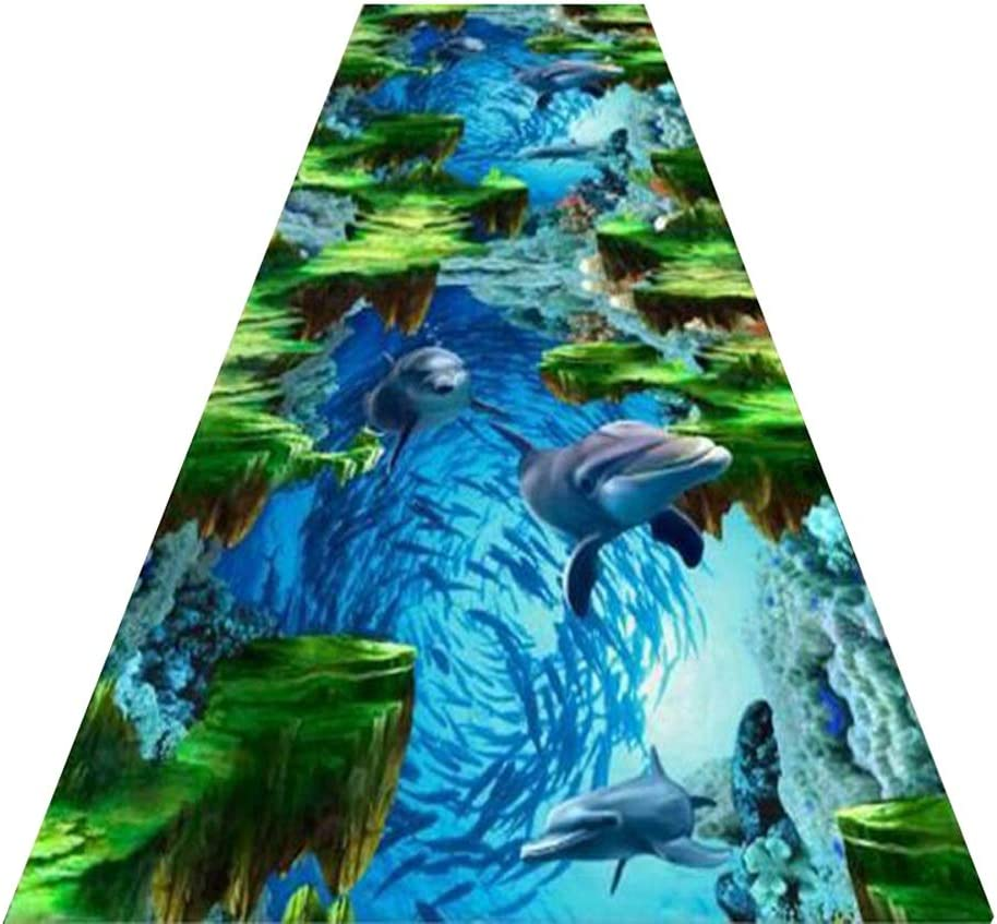 Color : A, Size : 1.44m Mbd Runner Carpet Custom Size Corridor Non-Slip Entry Pad Easy to Clean Soft and Cut