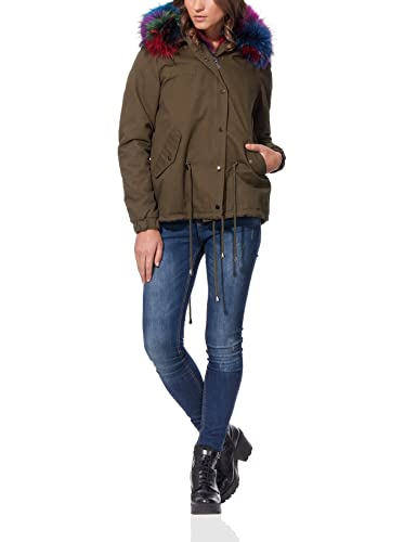 OSLEY PARIS Fur Parka 2 In 1 - Parka Mujer