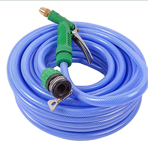 ZLJTYN Wash Car Water Gun Full Set Household Portable High Pressure Scour Vehicle Multifunctional Powerful Water Flower Hose Connector Fittings,40 Meters