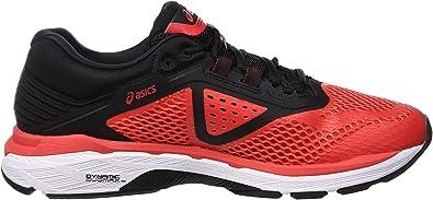 Asics Gt-2000 6, Zapatillas de Entrenamiento para Hombre, Rojo (Red Alert/Black 600), 48.5 EU: Amazon.es: Zapatos y complementos