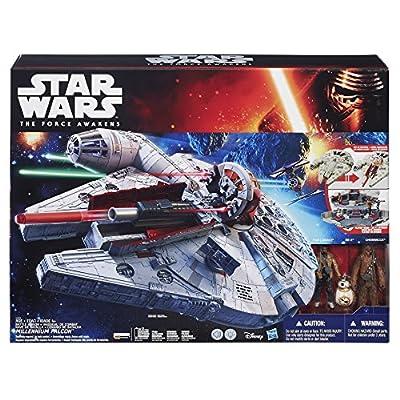 Star Wars The Force Awakens Battle Action Millennium Falcon: Hasbro: Toys & Games