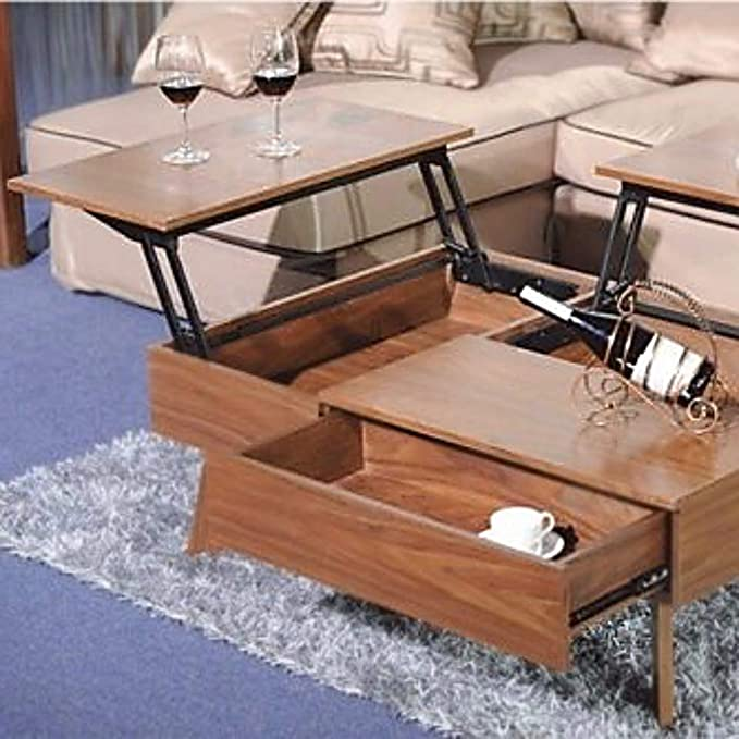PNPGlobal Lift Up Top Large Coffee Table Hardware Fitting Furniture Mechanism Hinge Spring