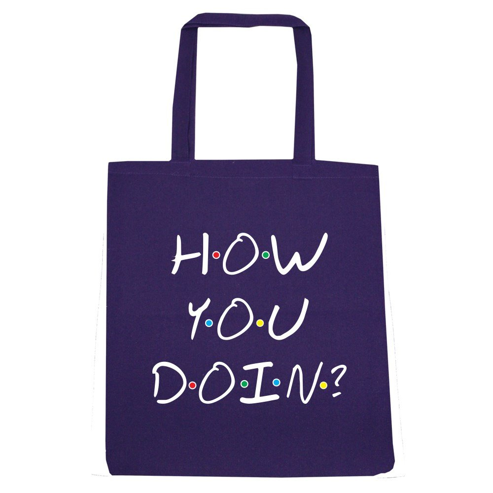 Grindstore Tragetasche How You Doin'? 38 x 42 cm lila