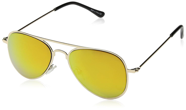 Eyekepper Stainless Steel Frame Kids Children Sunglasses Blue