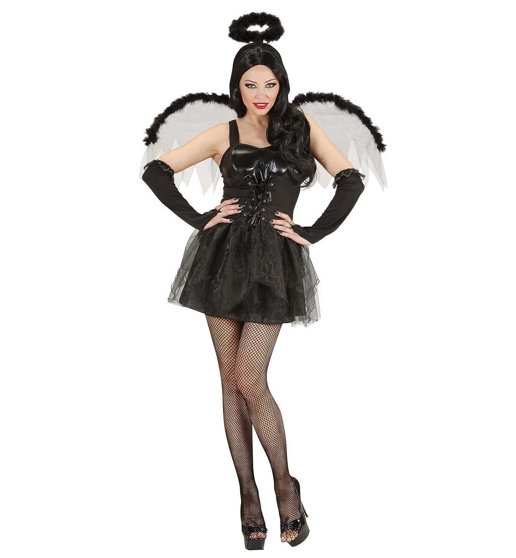 WIDMANN Widman - Disfraz de halloween ángel para mujer, talla 36 (89841): Amazon.es: Juguetes y juegos
