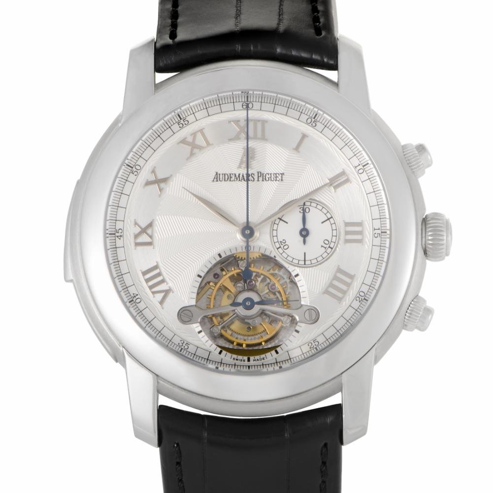   Audemars Piguet Jules Audemars mechanical-hand-wind mens Watch 26050PT.OO.D002CR.01 (Certified Pre-owned)