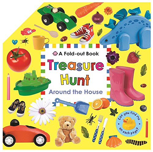 Download Around the House (Fold-Out Treasure Hunt) pdf