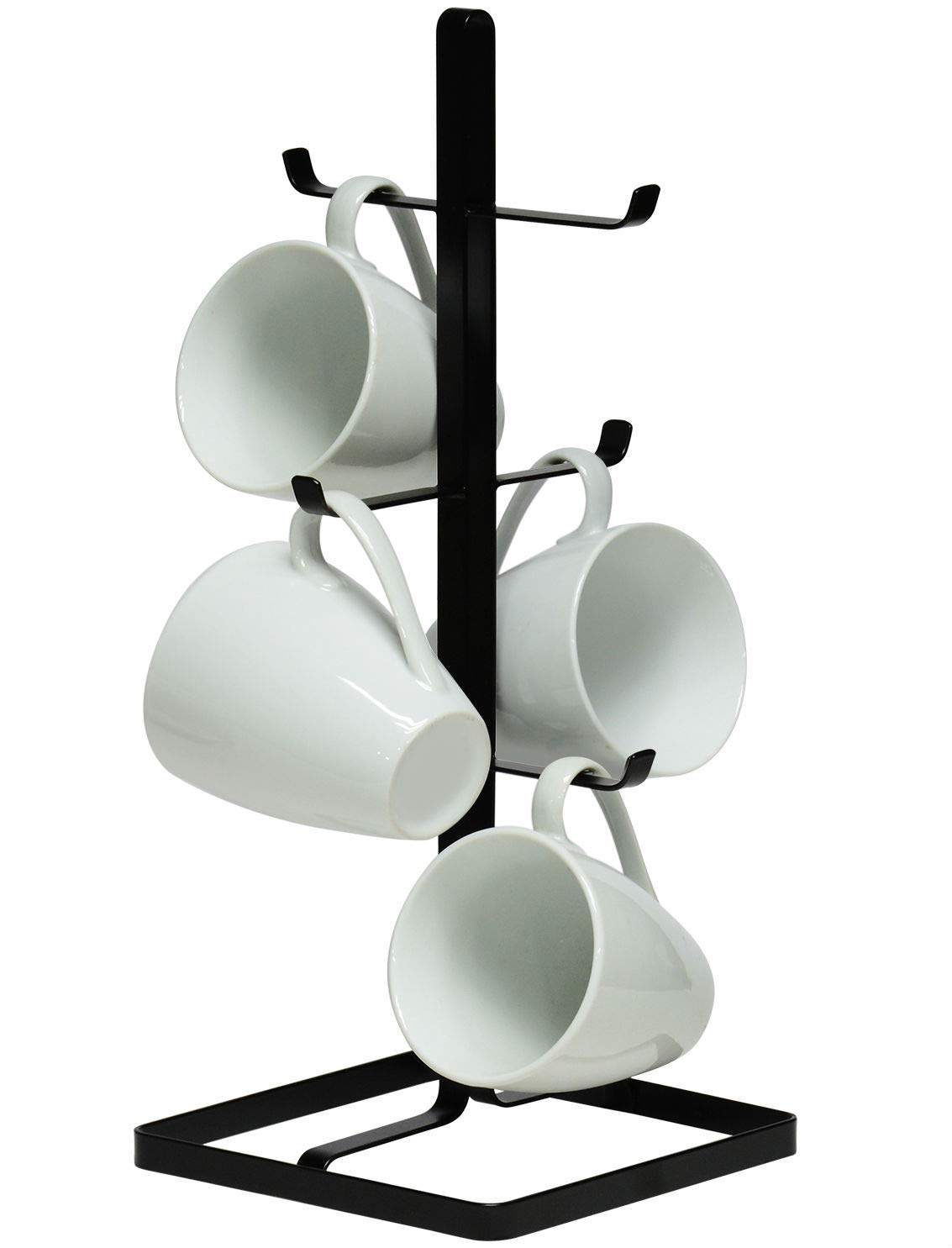 Neat-O Metal Mug Tree Holder Organizer Rack Stand