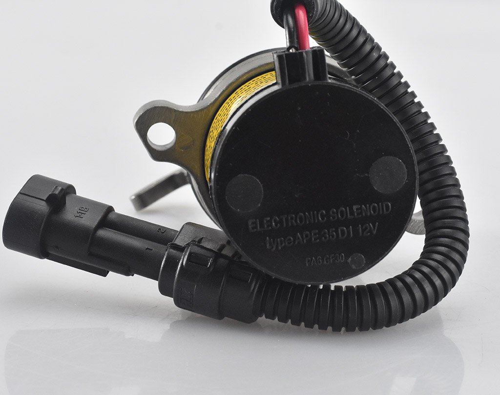 May Fuel Shutoff Solenoid 04103812 04103808 for Deutz F3L F3M F4L F4M 1011 2011 Engine 12VDC