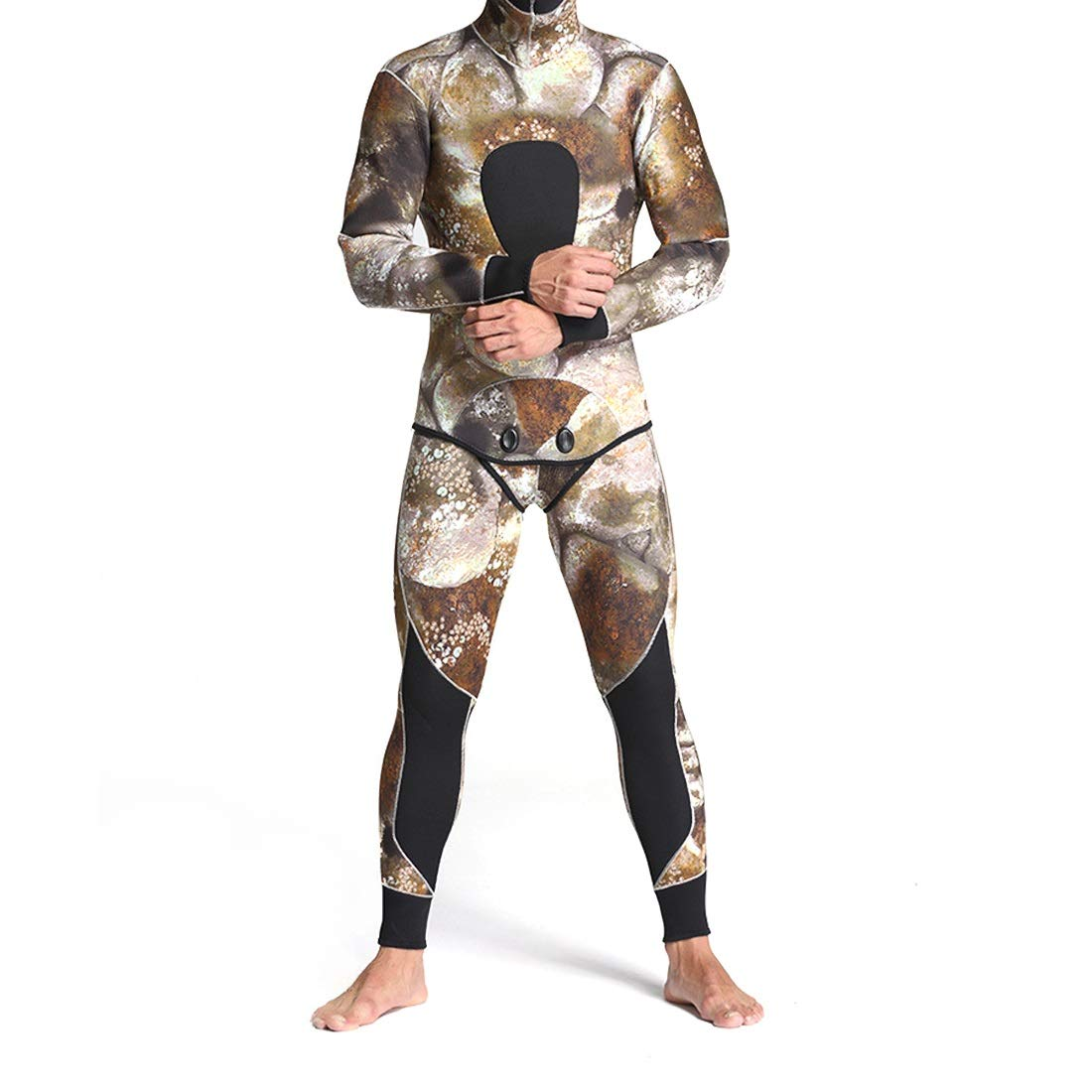CeSuoLiBengDi ウェットスーツ Medium メンズ サイズ 水着 ダイビング サーフィン Medium|1 迷彩服 日焼け止め 吸汗速乾 防寒 保温性優れる 長袖 (Color : 2, サイズ : M) B07G77J1JN Medium|1 1 Medium, 色見本のG&E:1046139a --- sharoshka.org