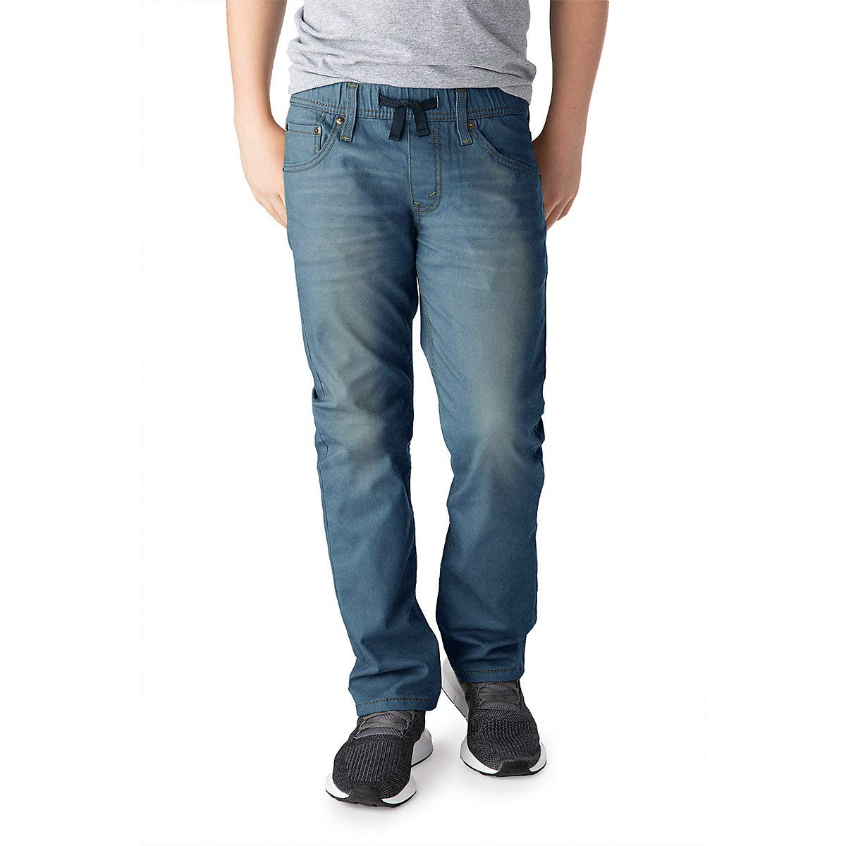 Signature by Levi Strauss & Co. Gold Label Boys Athletic Recess Fit Jeans, Gulf, 18 by Signature by Levi Strauss & Co. Gold Label