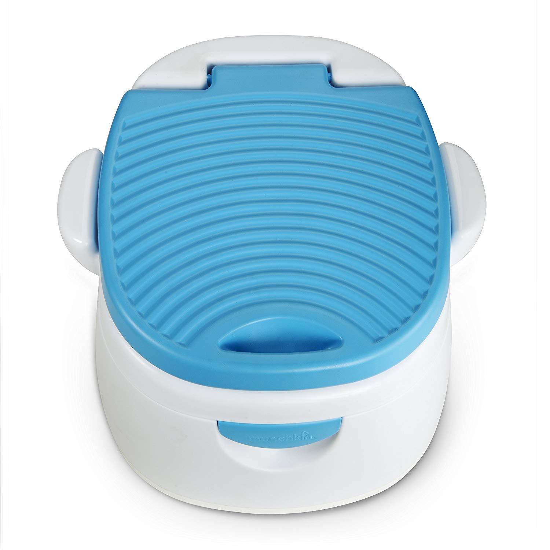 Munchkin Baby Kleinkind T/öpfchen Toilette Sitz Step Geruch Eliminating Mehrstufig 3-in-1