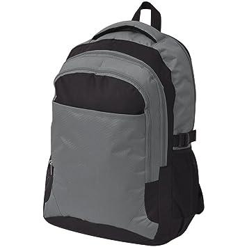 2b0ed70fc8c38 Festnight 40 L Schulrucksack Backpack Schultasche Freizeitrucksack 40 Liter  Rucksack Tagesrucksack aus 600D Polyester - Schwarz