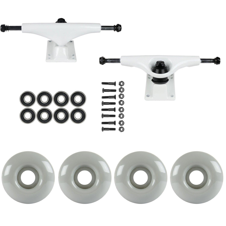 スケートボードパッケージHavocホワイト5.0 Trucks 53 Mm Warm Gray ABEC 7 Bearings   B01IFBAR9Y