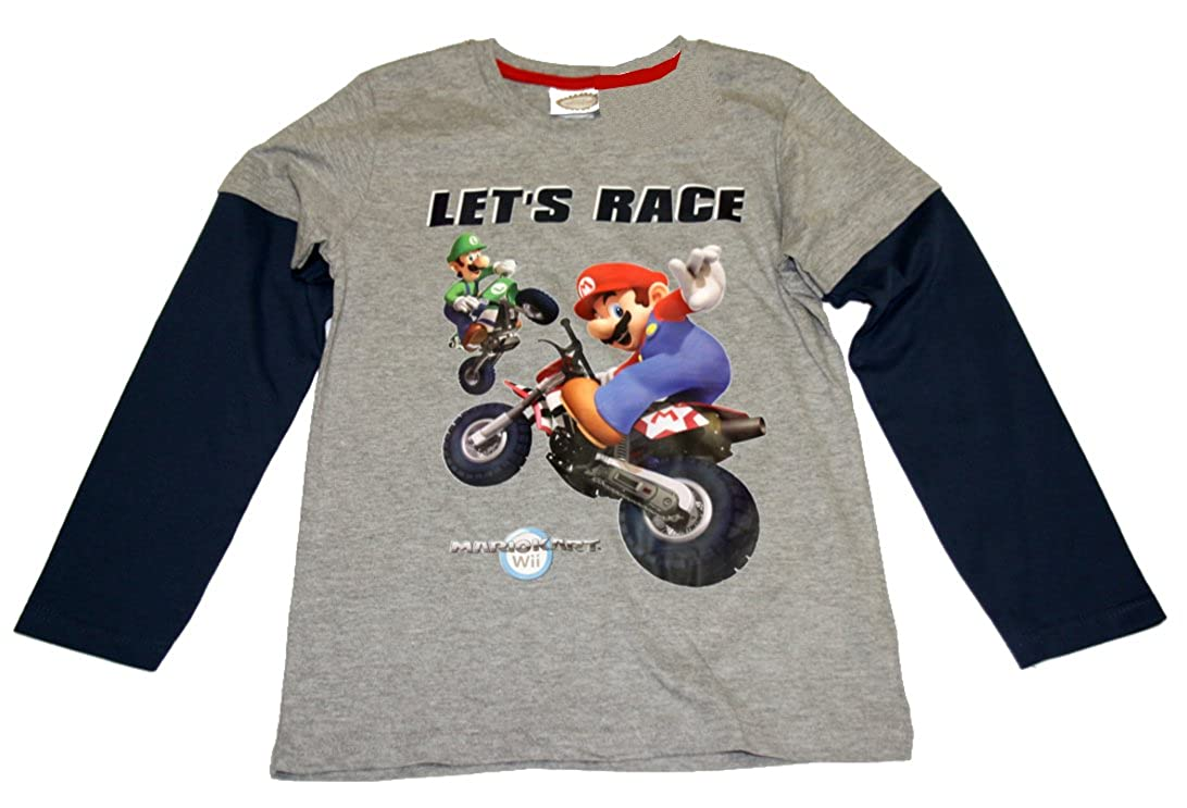Super Mario Kinder T-Shirt  Langarmshirt Shirt sale!! gr.116