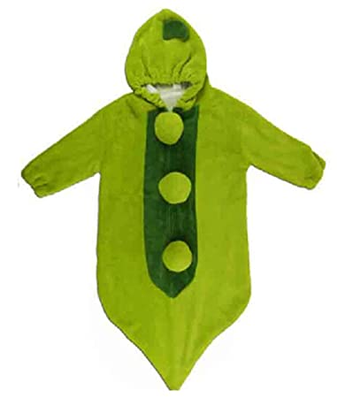 BuyHere Big Size Baby Cute Pea Sleeping Bag,Green
